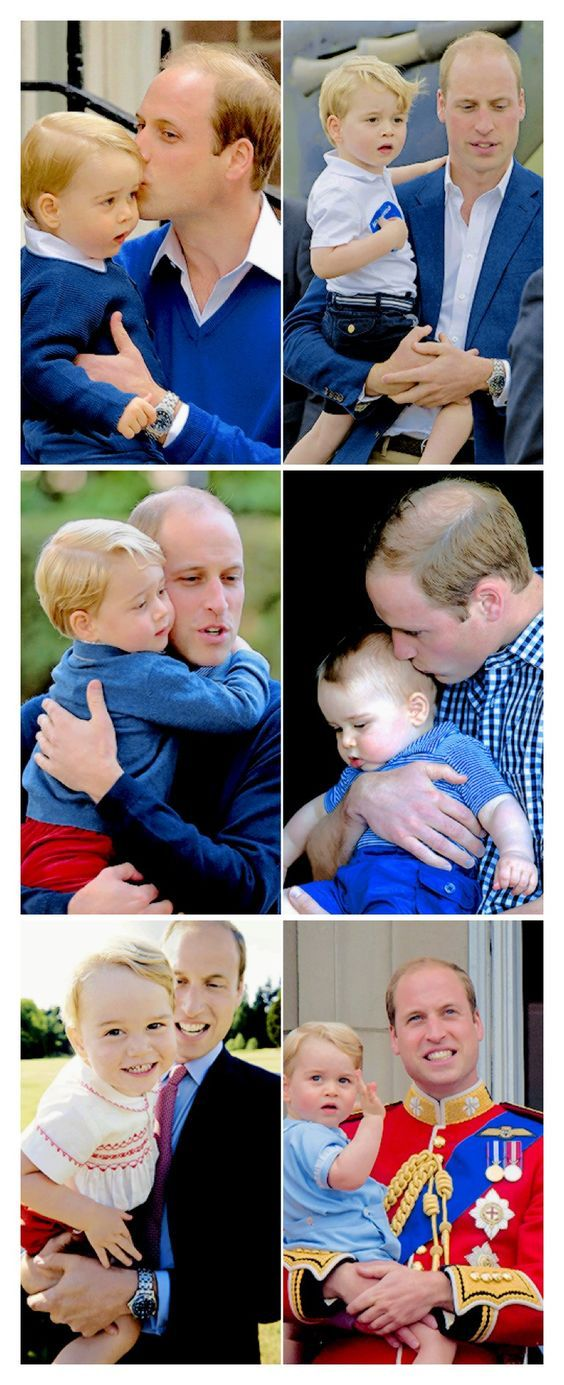 william and george-#father and son