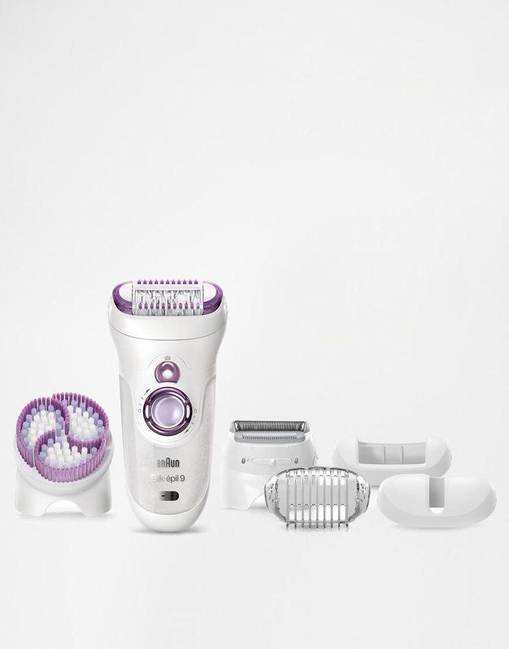 Braun | Braun Silk-Epil 9 Wet & Dry Epilator Skin-Spa with Cleansing Brush at ASOS