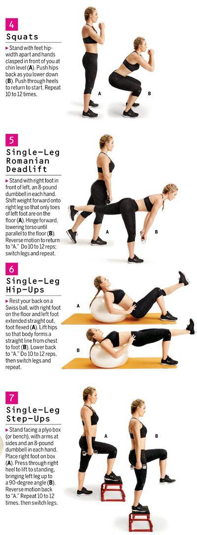 Lindsey Vonn Lower Body Exercises