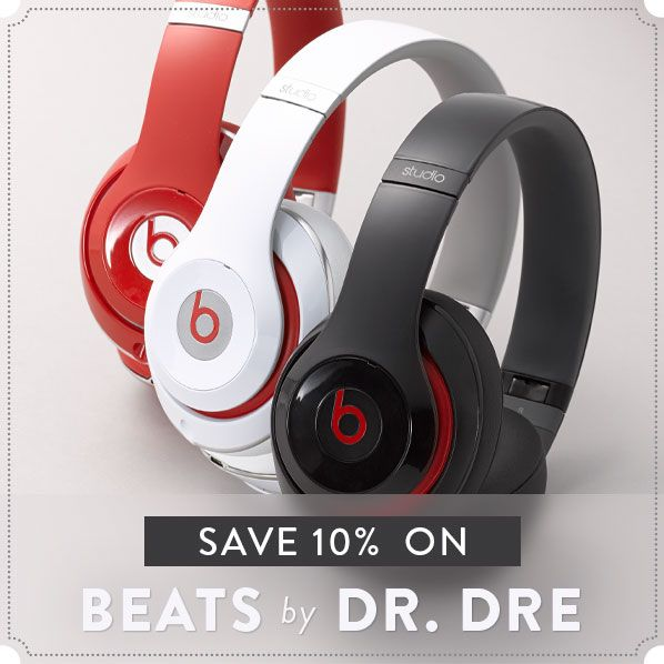 10% off Beats by Dr. Dre @ Nord Strom - HotDeals Check us out at www.hotdeals.com or on FB! www.facebook.com/hotdealscom