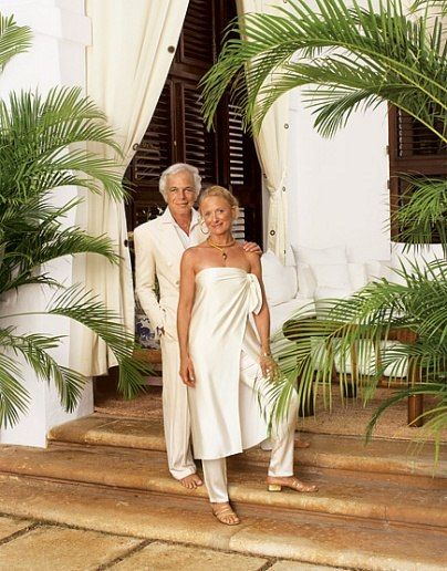 Ralph & Ricky Lauren's idyllic home on Jamaica: Fashion designer Ralph Lauren and his wife, Ricky, bought a Jamaican villa on Round Hill, near Montego Bay, some 20 years ago.