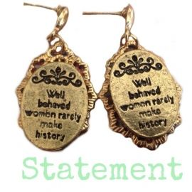 Satement Earrings Gold