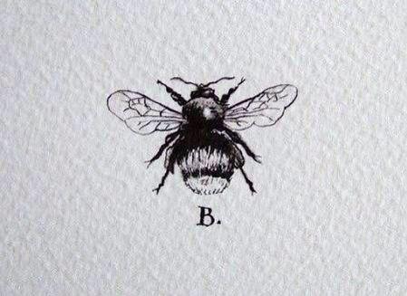 #bees #blackandwhite #tattoos