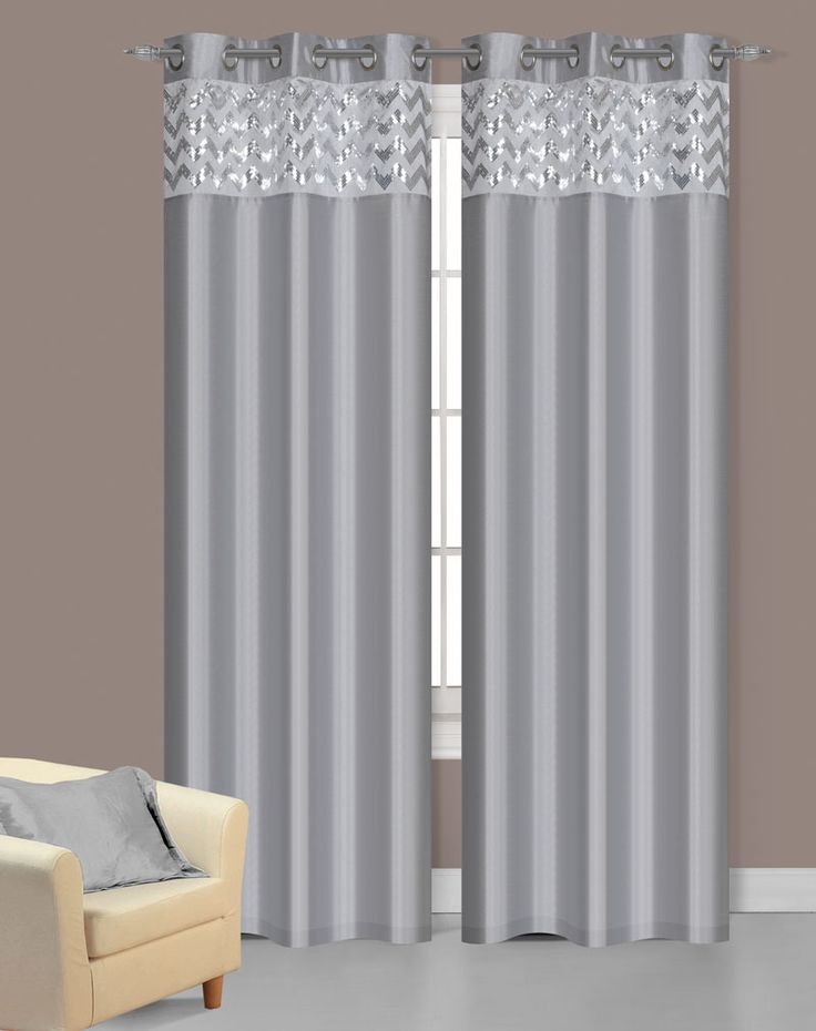 The 25 best Silver curtains ideas on Pinterest Grey bedrooms