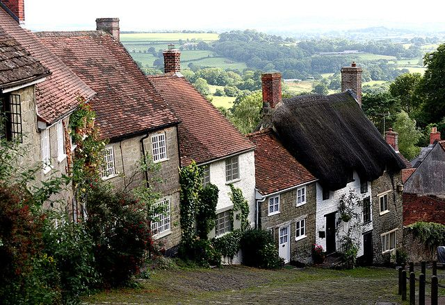 The Strenuous Path Home  Shaftesbury, England