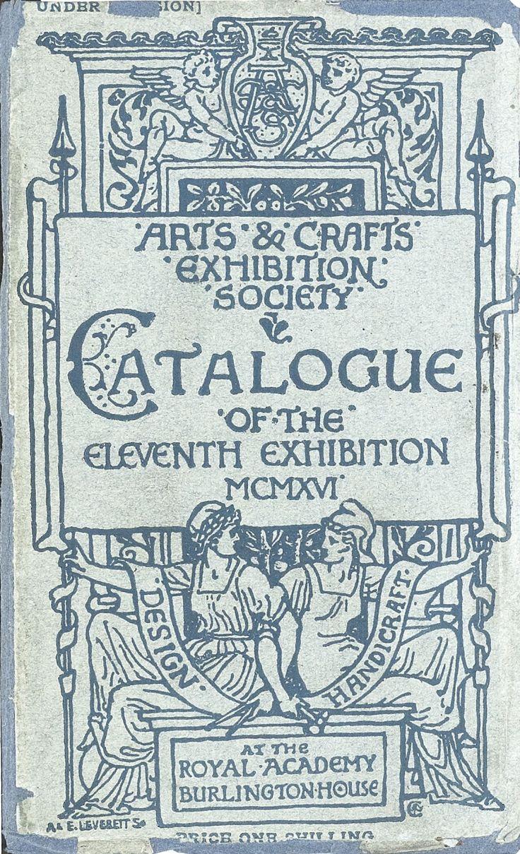 Arts And Crafts Exhibition Society Catalogue
