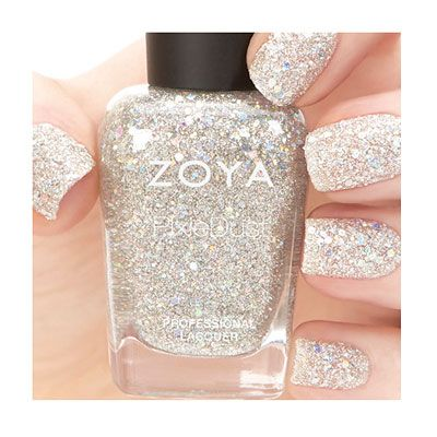 Zoya Cosmo from the Magical Pixie Collection: NEW Holographic PixieDust Nail Polish Colors