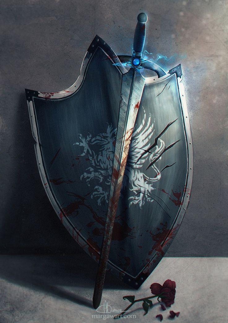 кустарник относится картинки фэнтези щитов с мечами бюро мыдизайн