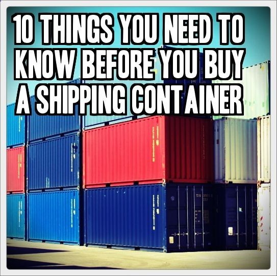 30 Best Shipping Container Conex Underground Images On