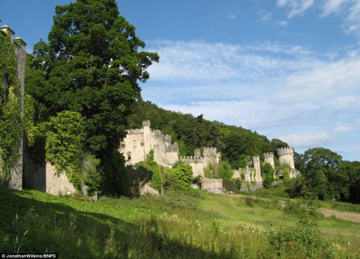 Gwrych Castle took ten years to build with work starting in 1812. It is a Grade I listed 19th-century country house near Abergele in Conwy county borough, Wales