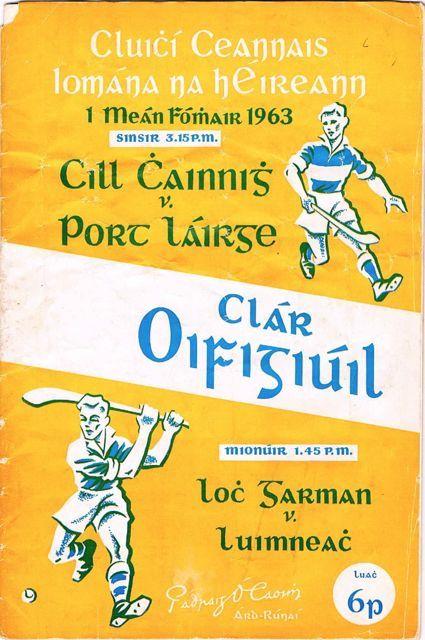 1963 All Ireland Final Kilkenny v Waterford