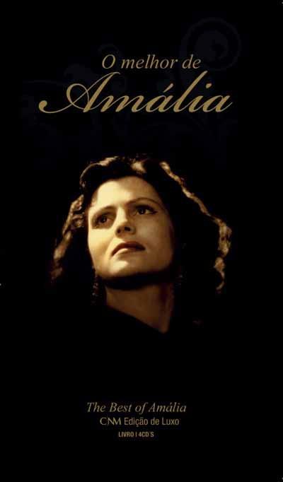 Amália Rodrigues - O Melhor de Amália /  Fado - The Best of Amalia (4 CD)