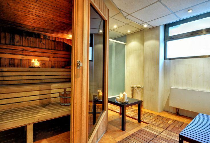 Sauna Sant Gothard Hotel in Andorra, mountain hotel