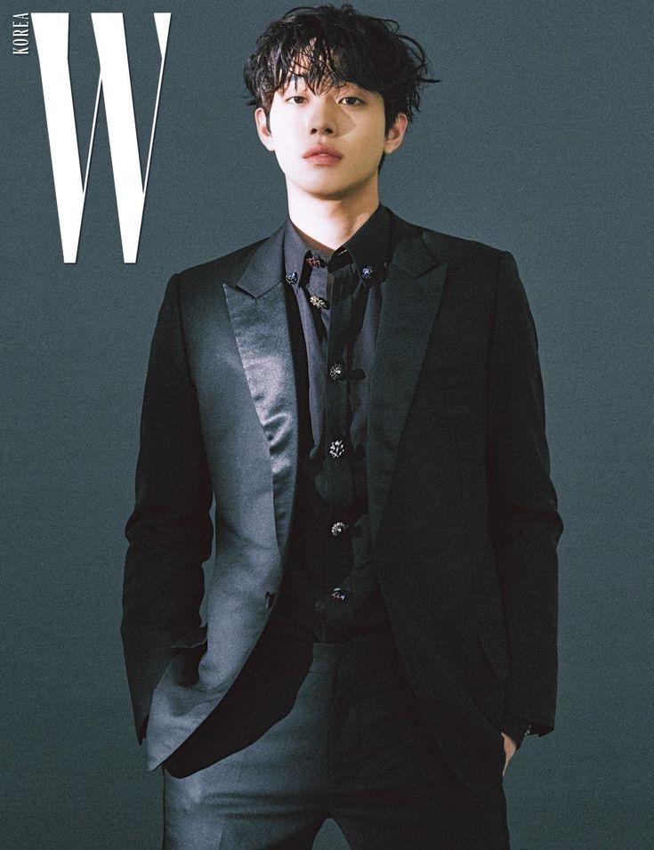 Ahn Hyo Seop - W Magazine January Issue '18