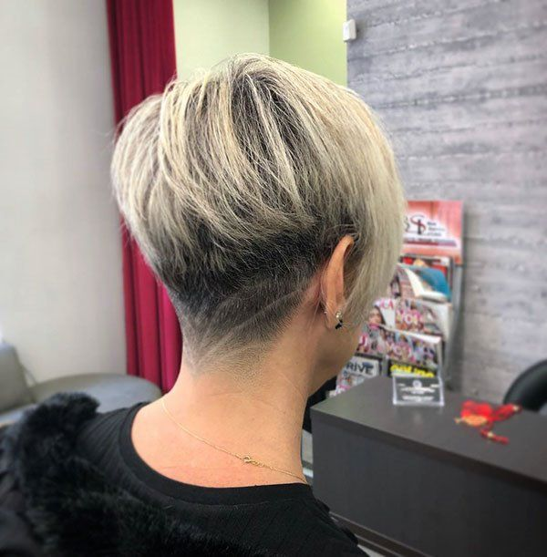 20 Best Short Hair Back View Pictures Pictures Short Short Hair Back View Short Hair Back Cool Short Hairstyles