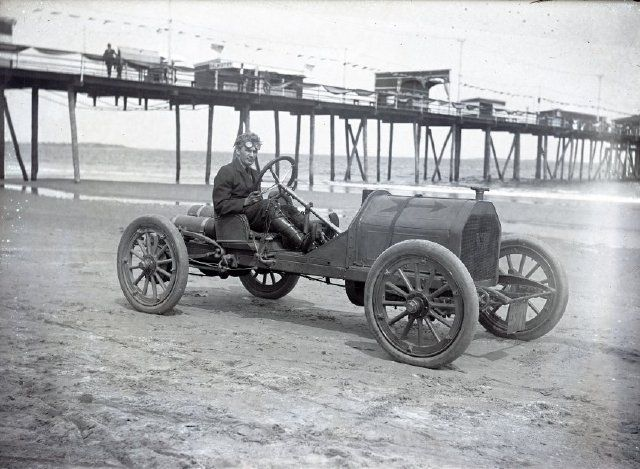Another Great Image From Old Orchard Beach Of A Race Car From The