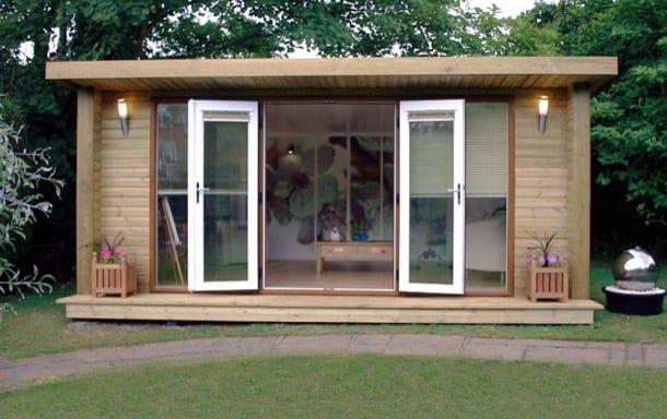 M s de 1000 ideas sobre casa prefabricada en pinterest - Cocheras de madera prefabricadas ...