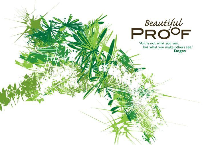 Beautiful Proof Exhibition Invite.