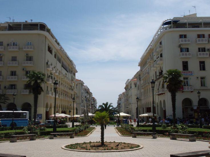 Aristotle square, Thessaloniki