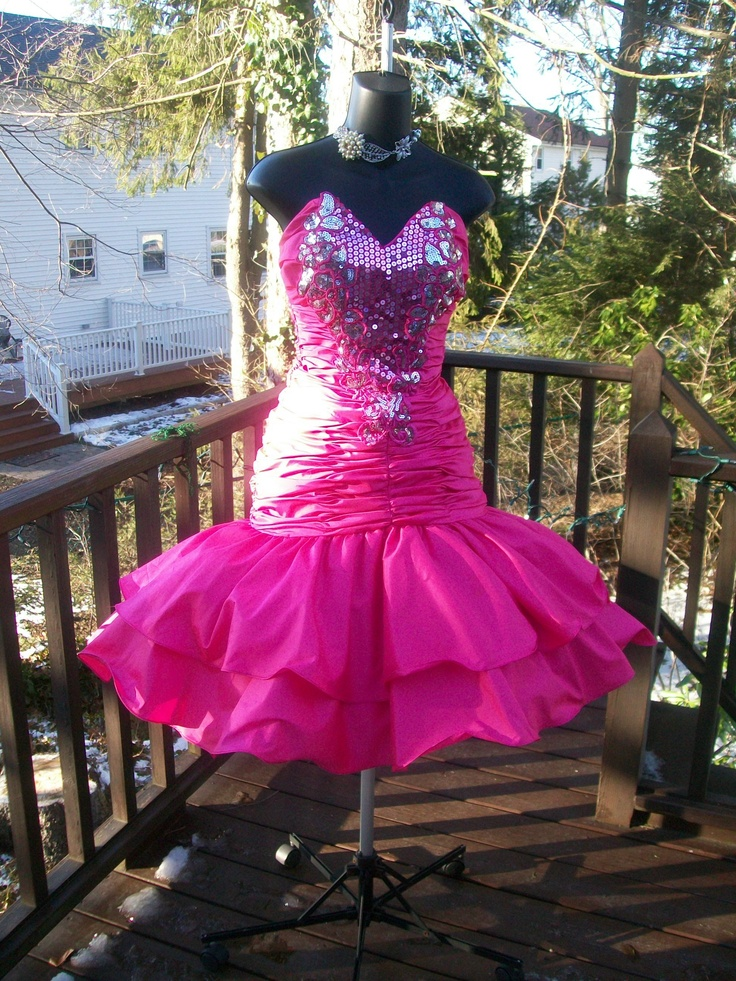 Vintage 80s Plus Size Xxl Prom Party Dress Best In Show Rare Prom