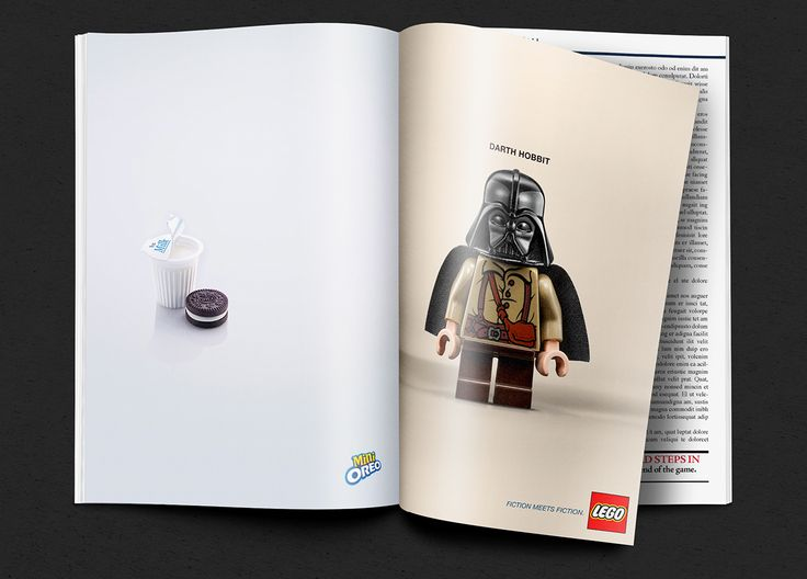 Best Advertising Print Images On Pinterest Advertising - Clever print ads from lego show children building their own future