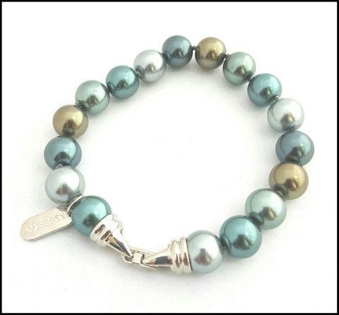 Pearl Bracelet in Seafoam