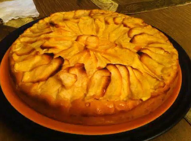 Tarta de manzana para diabeticos