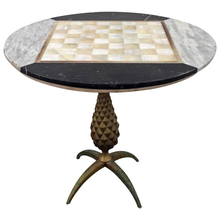 Arturo Pani Chess Board | From a unique collection of antique and modern games at https://www.1stdibs.com/furniture/more-furniture-collectibles/games/