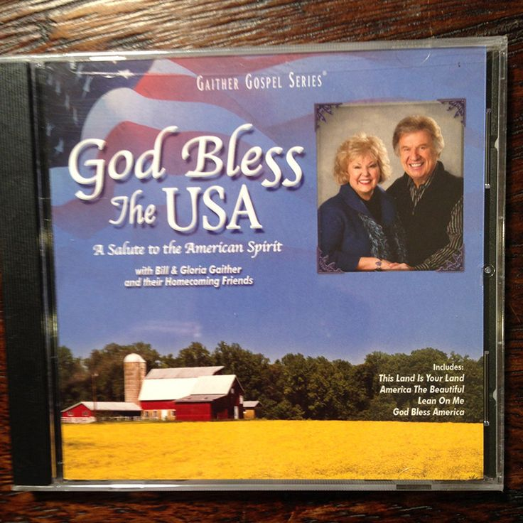 God Bless The USA Gaither Gospel Series CD -NEW Sealed