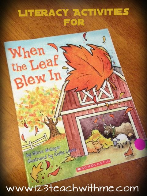 1..2..3.. Teach With Me: When the Leaf Blew In: Activities Across the Curriculum