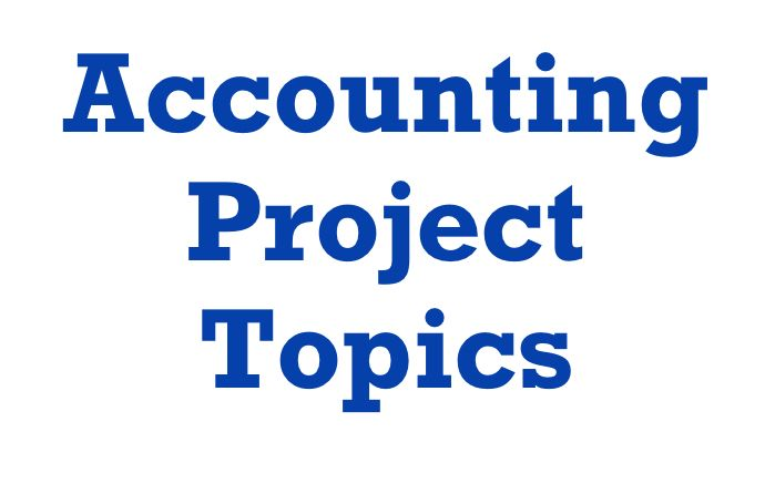 Icymi 40 Accounting Research Project Topic New Thesi Dissertation Paper Ideas Idea