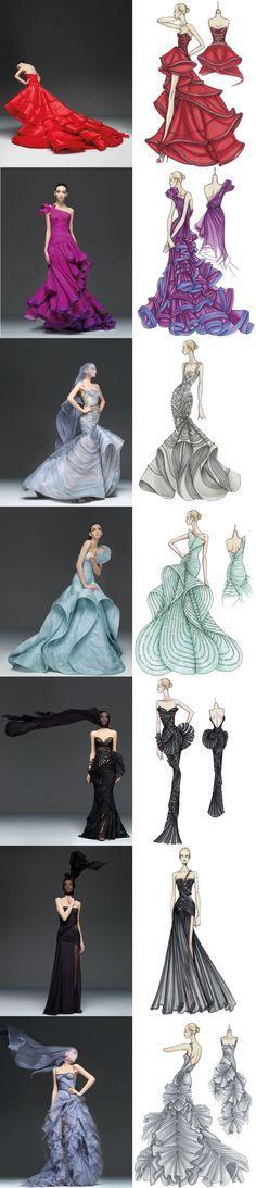 Sou apaixonada, fascinada & surtada pelo Atelier Versace. Meu quê de perua-fashionista fala mais alto quando vejo os vestidos maravilhosos da marca. Nesse post aqui, de julho passado, mostrei alguns croquis da marca junto com o vestido pronto. Era tudo tão lindo que eu até resolvi fazer Desenho de Moda (no Senai-Cetiqt, super recomendo), lógico […]