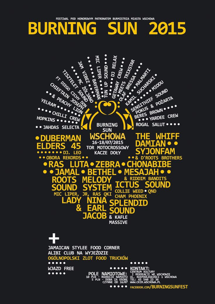 Burning Sun 2015 - Poster