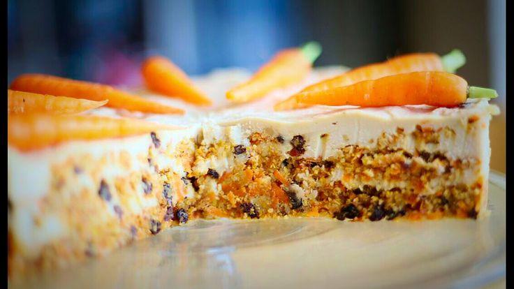 Unbaked carrot cake