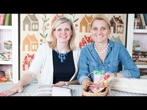 8 Point Star Talk with Edyta Sitar of Laundry Basket Quilts and Kimberly Jolly of Fat Quarter Shop