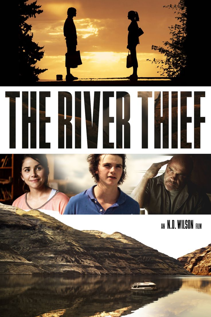 The River Thief Movie Poster - Joel Courtney, Paul Johansson, Bas Rutten  #TheRiverThief, #JoelCourtney, #PaulJohansson, #BasRutten, #NDWilson, #Drama, #Art, #Film, #Movie, #Poster