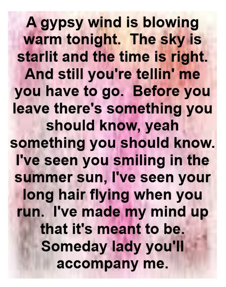 Bob Seger - You'll Accompany Me - some of Bob Seger's songs make me cry. The longing for this woman in this song makes me tear up every single time.