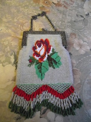 Antique Beaded Purse in Excellent Condition | eBay