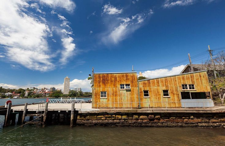 balmain park - This building would act as a perfect backdrop to showcasing winter designs.