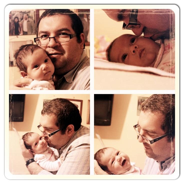 Amalia con papi...