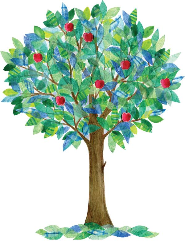 Apple Tree by Natalie Ryan, via Behance | Collage & Mixed ...