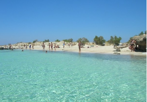 Elafonisi beach, on the west coast of Crete... pure bliss