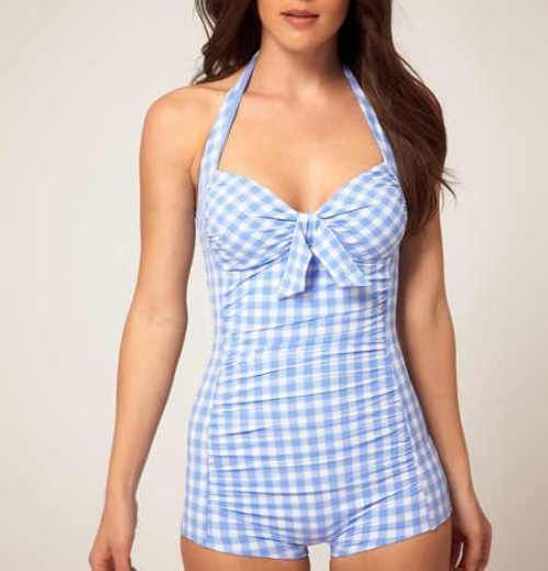 ahhh beyond love this bathing suit, its modest but freaking adorable