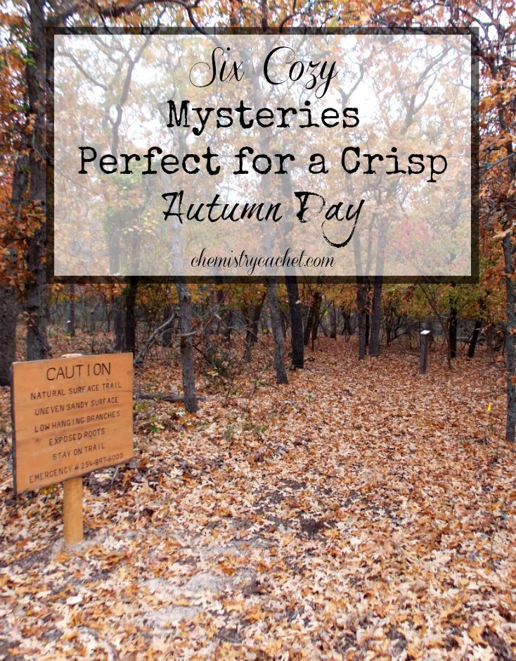 Six cozy mysteries perfect for a crisp autumn day!