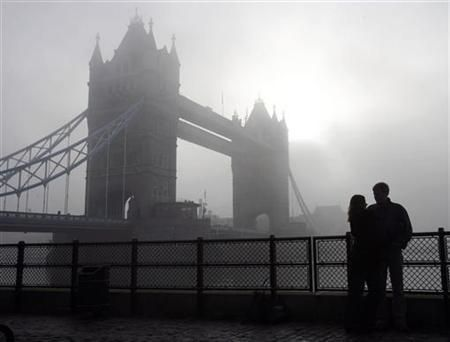 A Foggy Day in London Town