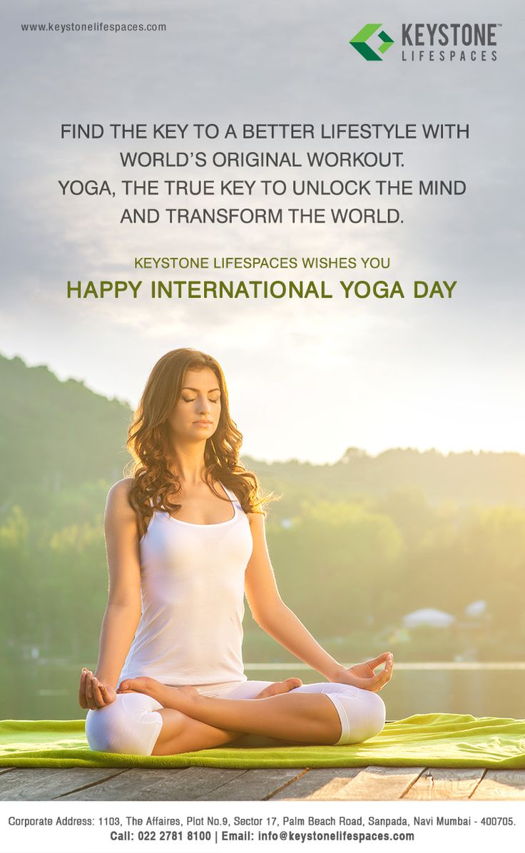 Keystone Lifespaces wishes all of you a very Happy Yoga Day #YogaDay2017 #Motivation #Fitness