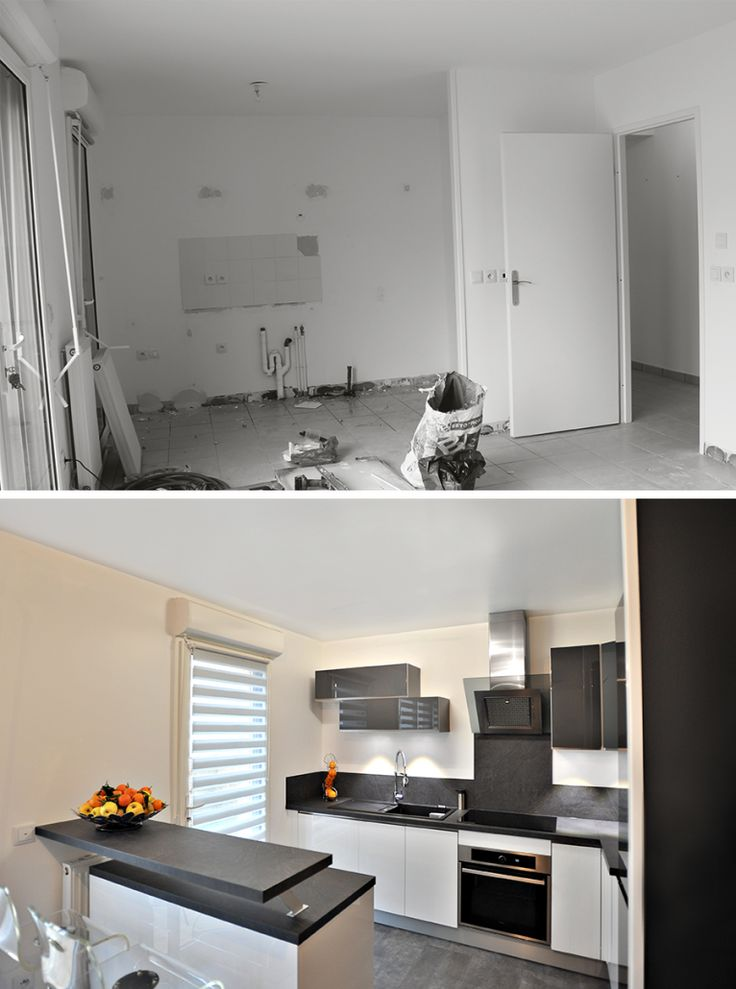 Décoration d'un appartement à Sainte-Geneviève-des-bois. Planche déco, simulation 3D, suivi de chantier... Découvrir les photos.