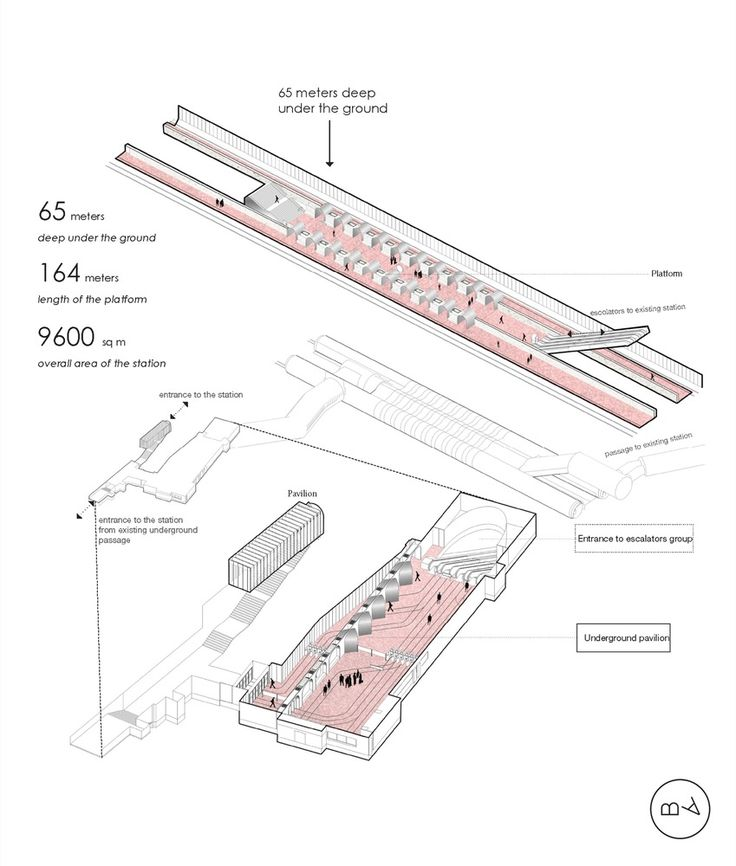 Gallery of Blank Architects Win Competition to Design Moscow Metro Station - 7