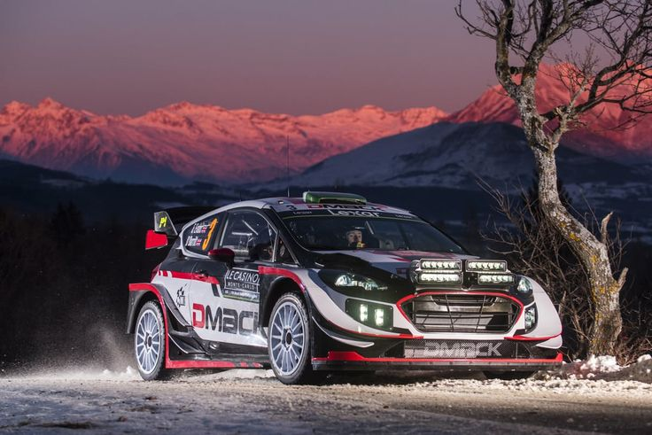 WRC: The 2017 Monte Carlo Rally shakedown | DRIVETRIBE