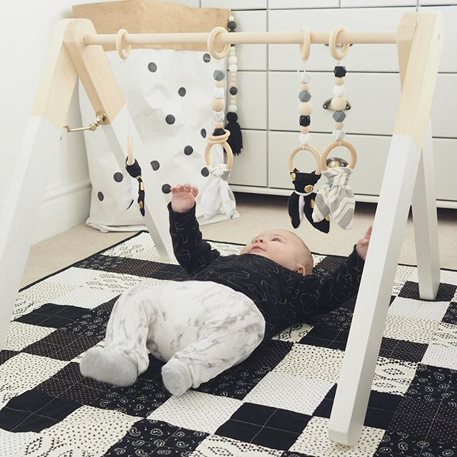 Wooden playgym wood play gym wooden play gym wooden play gym toys activity centre Scandinavian playgym wooden baby gym